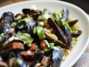 Red Chile & Tequila Mussels